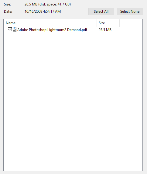 Download Adobe Photoshop Lightroom 2 on Demand
