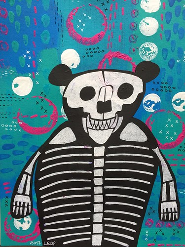 30 - Skeleton Bear