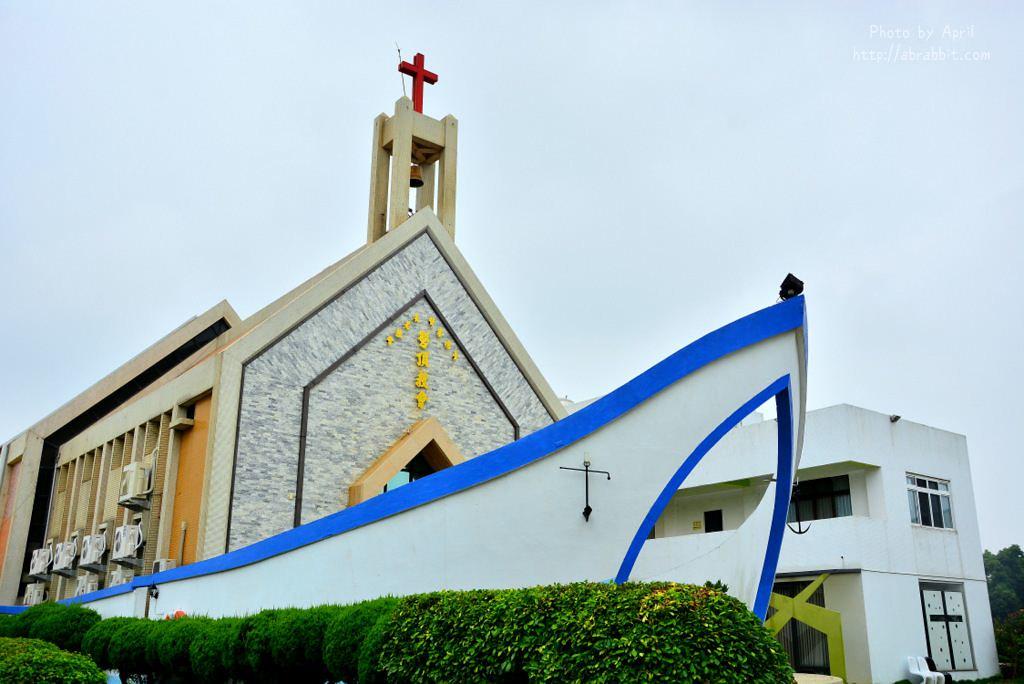 36203830026 824d4f3bc6 b - 台中龍井景點|磐頂教會-船型造型教會,諾亞方舟來啦!