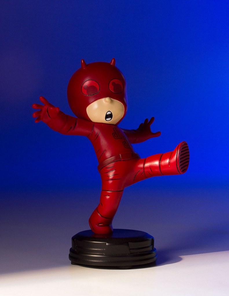 你的喝醉酒惹嗎?!Gentle Giant【夜魔俠】Daredevil Animated Statue 全身雕像作品