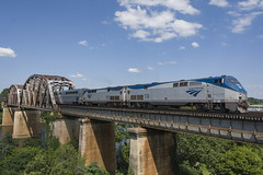 Amtrak Auto Train No. 53 crossing Occoquan River