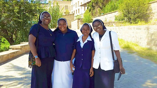 Our sisters currently on mission in Ethiopia sisters
