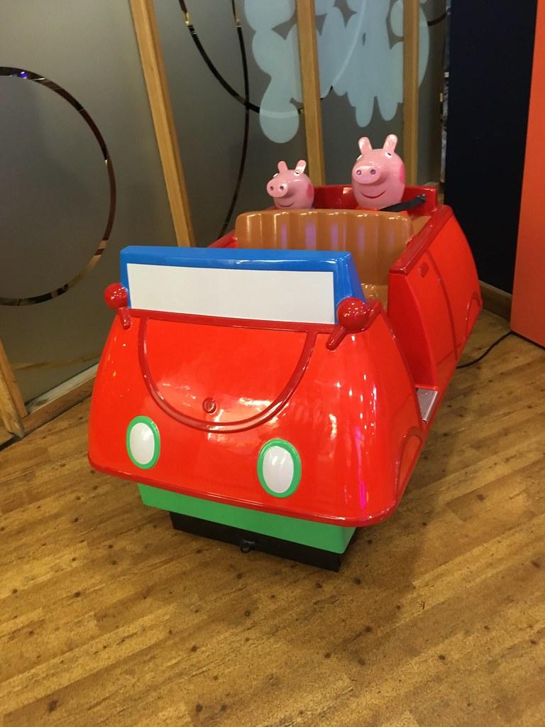Peppa Pig Birthday Car