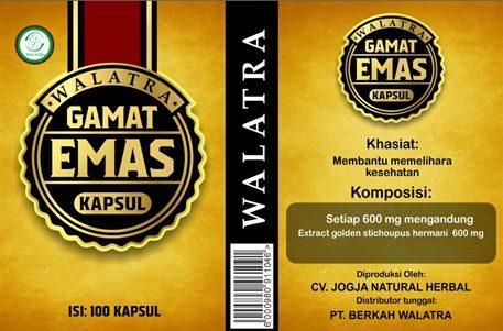 Walatra Gamat Emas Kapsul