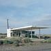 abandoned service station. mojave desert, ca. 2014. by eyetwist