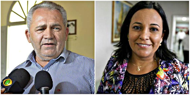 Prefeito quer sangrar ex-prefeita na Justiça até a inelegibilidade, Climaco e Eliene