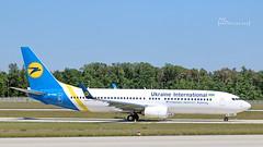 UR-PSW Ukraine International Airlines Boeing 737-8KV(WL) cn 41536 FRA