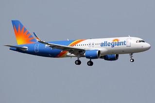 18 juillet 2017 - ALLEGIANT  AIR - Airbus  A 320 SL  F-WWBV   msn 7781 - LFBO - TLS
