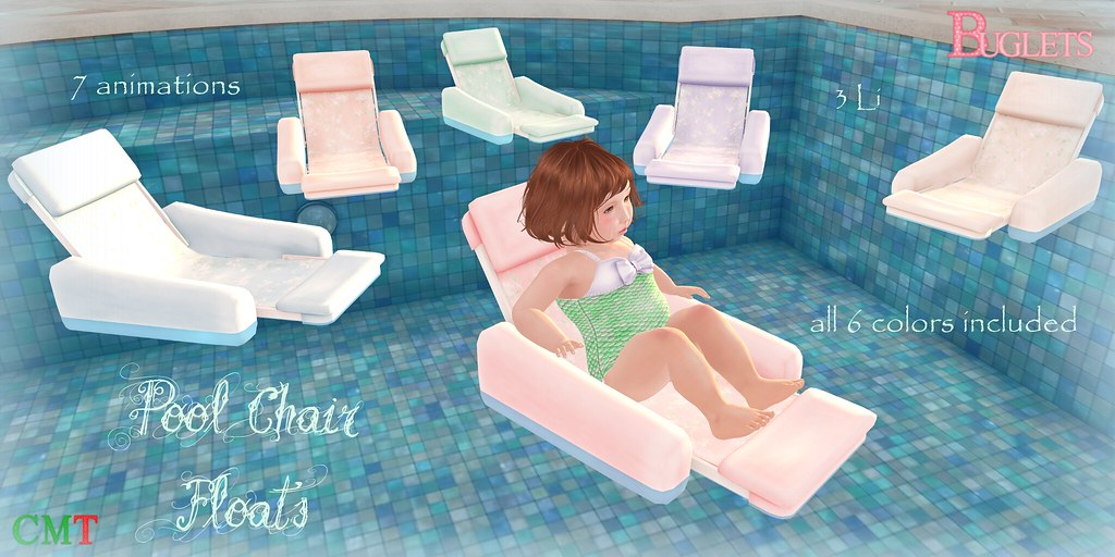 Pool Chair Floats AD - SecondLifeHub.com