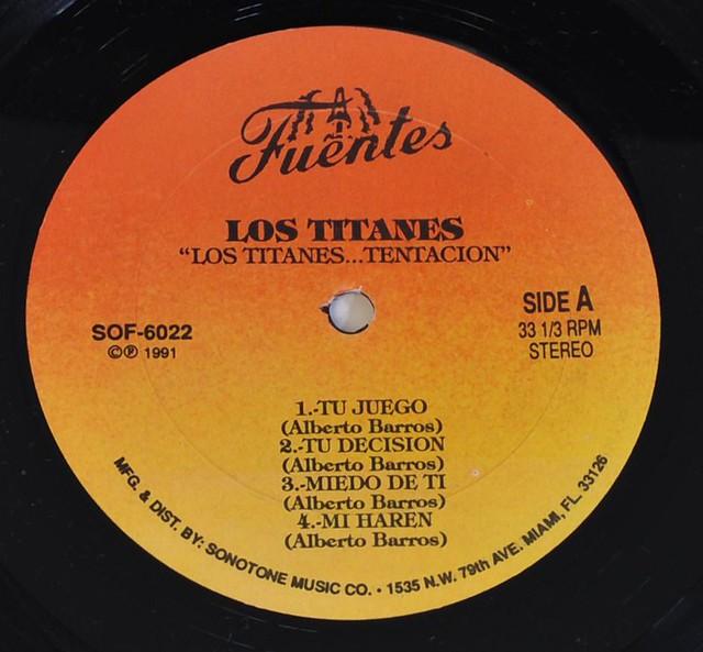 Los TITANES - Tentacion