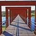 Ponte pedonal - Barragem do Vilar by cpscoa