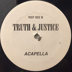RED FOX:TRUTH & JUSTICE(NUBIAN REMIX)(LABEL SIDE-B)
