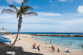 Playa Flamingo en Playa Blanca