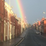 Rainbow over Preston