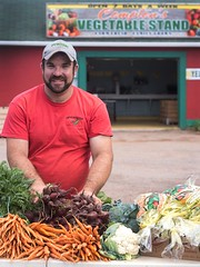 Comptons Produce and Vegetable stand in St. Eleanors PEI.