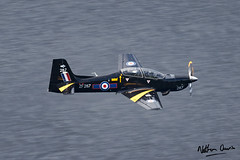 RAF Shorts Tucano T.1 ZF287 low level at Ullswater