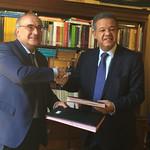 Leonel Fernández firma acuerdo de colaboración con importante institución académica de España