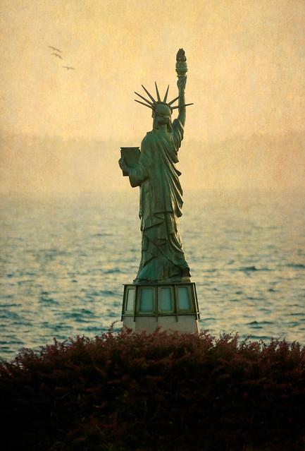 Statue of Liberty Plaza, Seattle, Washington