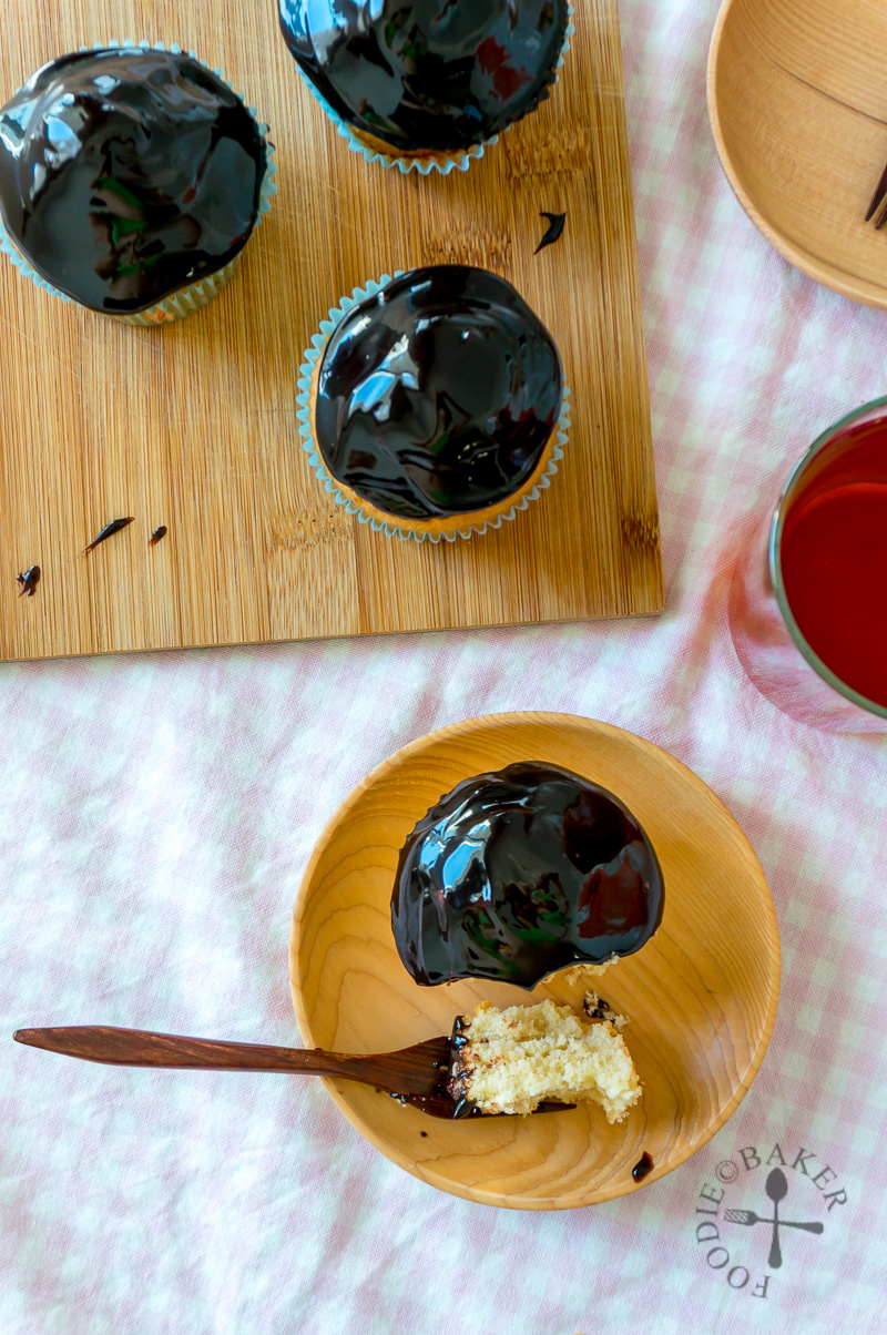 One-Bowl Vanilla Cupcakes with Vegan Chocolate Frosting