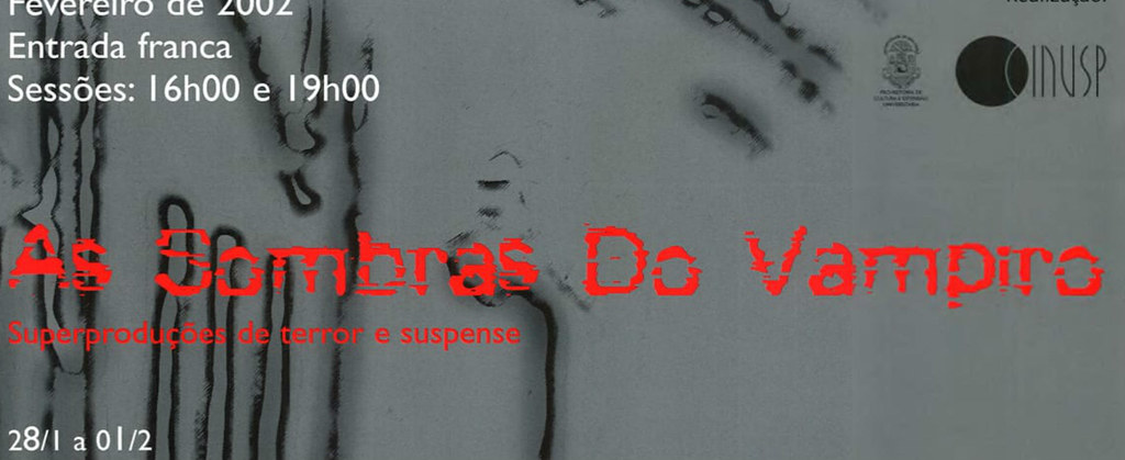 As Sombras do Vampiro: Superproduções de Terror e Suspense