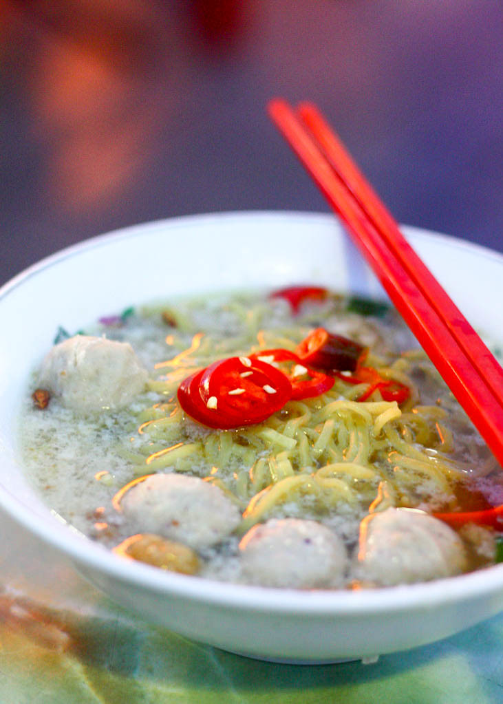 Supper Spots in the East: Xing Ji Rou Cuo Mian