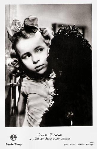 Conny Froboess in Lass die Sonne wieder scheinen (1955)