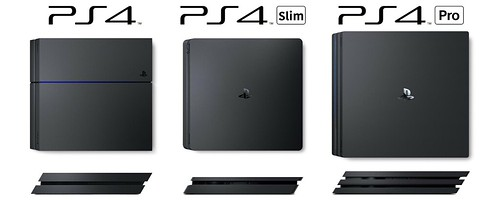 The Difference Between PS4, PS4 Slim and PS4 Pro