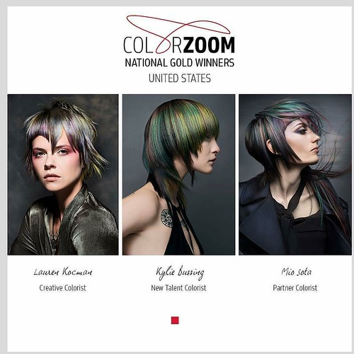 Congratulations to the #Gold finalists for #goldwellUS #Colorzoom2017 Challenge!! They are #Barcelonabound