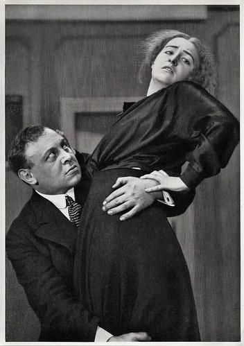 Emil Jannings and Henny Porten in Die Ehe der Luise Rohrbach (1917)