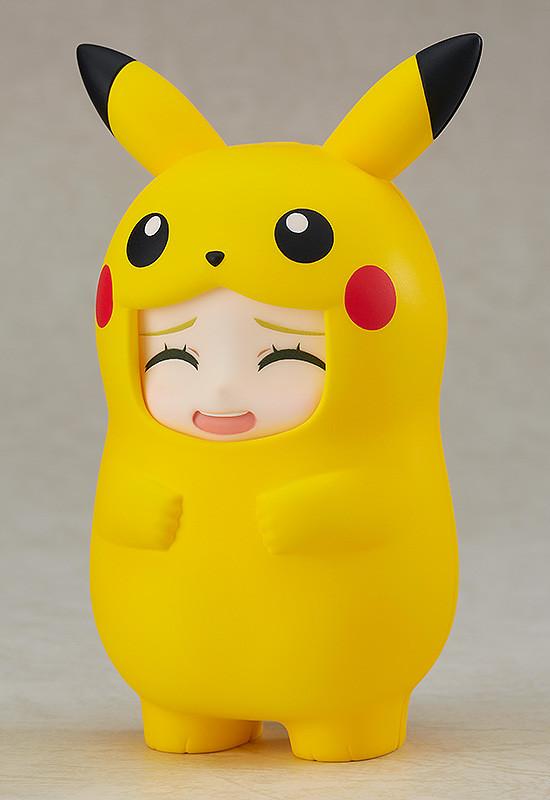 《黏土人配件系列》精靈寶可夢「皮卡丘玩偶裝配件」!ねんどろいどもあ ポケットモンスター きぐるみフェイスパーツケース
