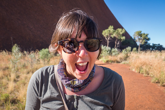 Uluru - Mutitjulu Waterhole-10 - How to do your own self-guided Uluru tour in Australia. Visit Ayers Rock in the Australian outback for cheap | Things to do in Uluru | Budget tour of Ayres Rock | Road trip from Alice Springs to Uluru | Free camping at Uluru