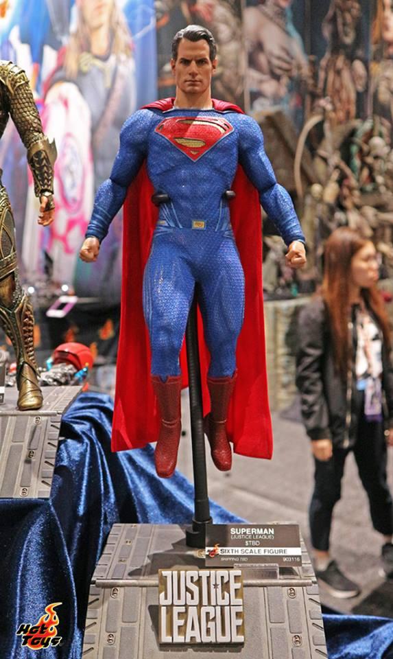 Hot Toys Superman SDCC2017 Justice League