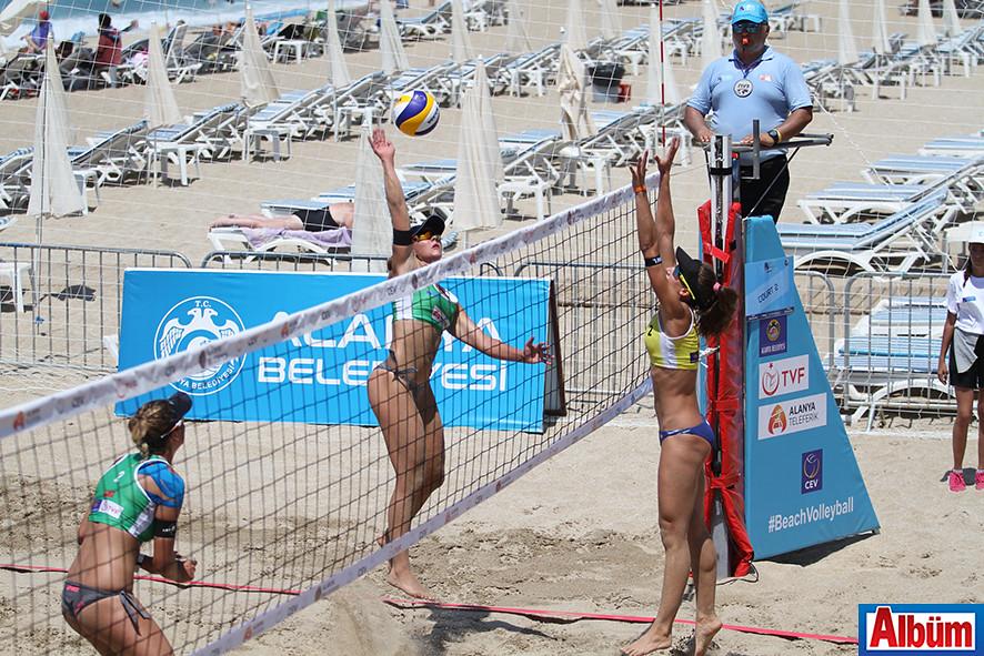 2017 CEV Bayanlar Plaj Voleybolu Avrupa Şampiyonası Alanya2