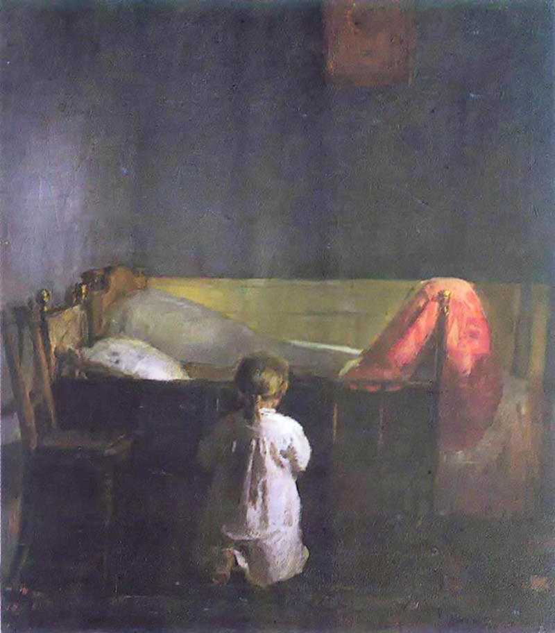 Evening Prayer by Anna Ancher, 1888