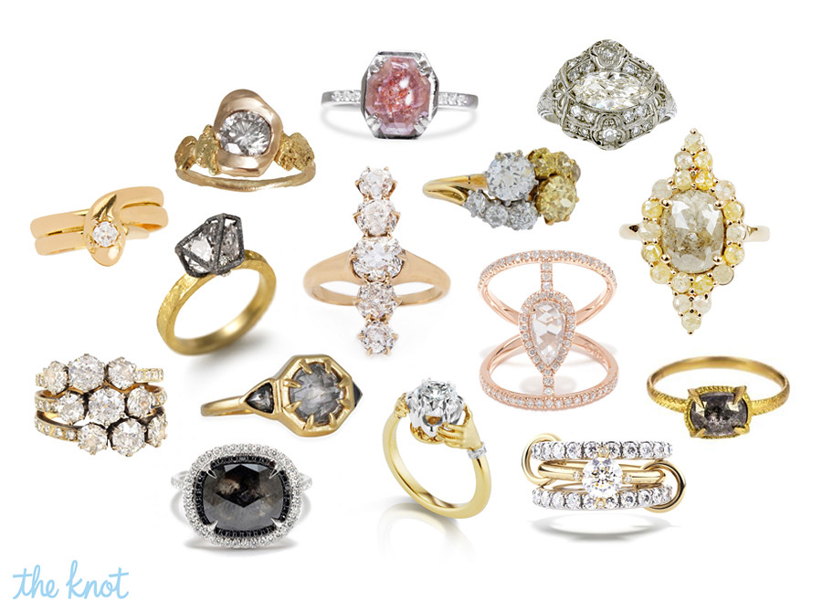 Alternatives To Wedding Rings 55 Luxury The Knot Gem Gossip