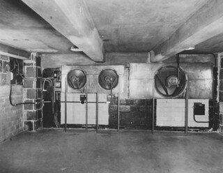 Photograph of a Mechanical Installation in the National Archives Building