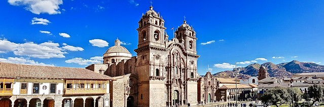 The beautiful city of Cusco