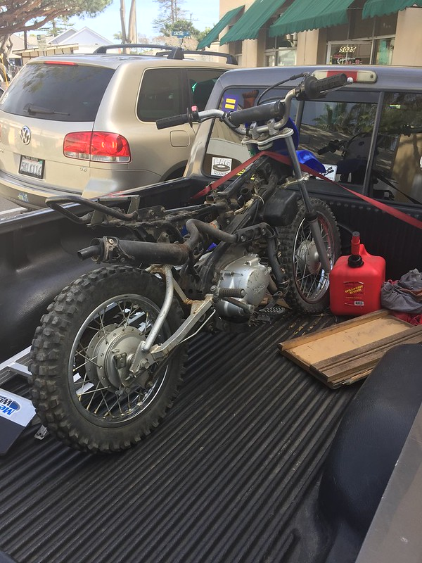 Found a TTR90 for $100 - this is gunna be fun | Adventure Rider