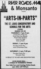 River Roads Mall arts in parts newspaper ad (1979)