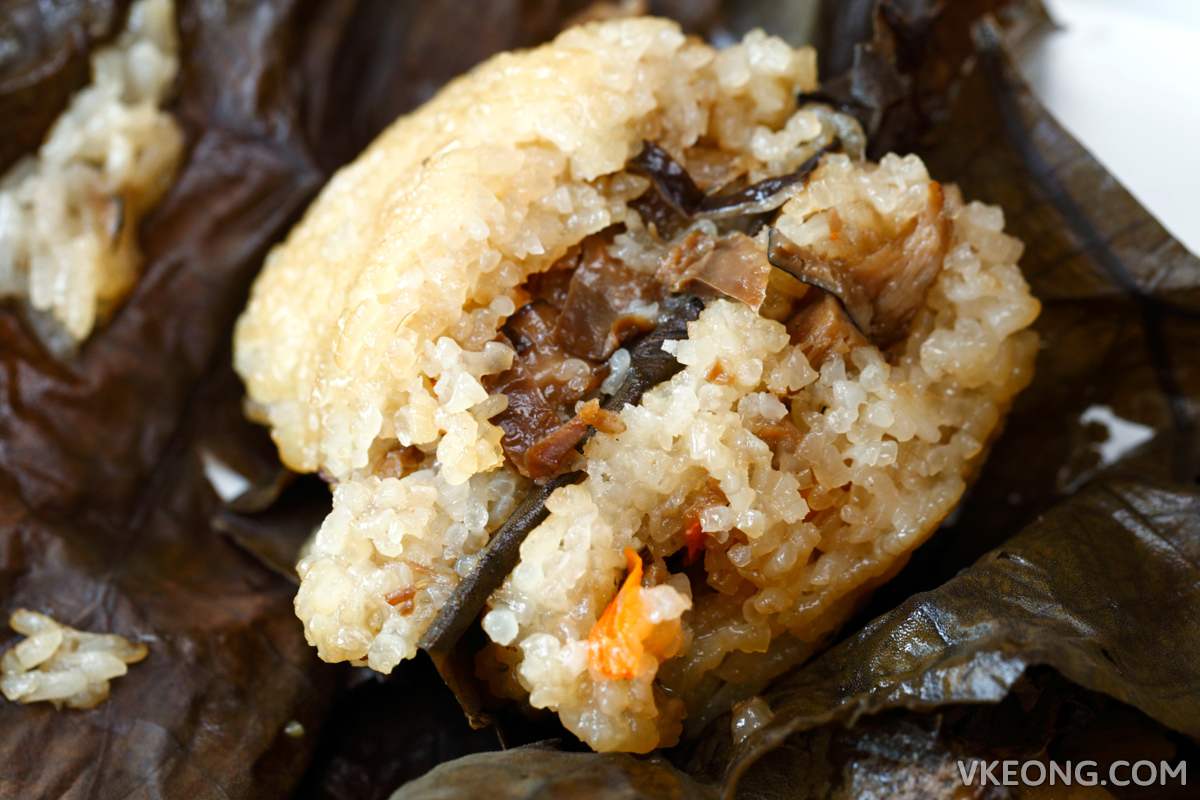 Peral Glutinous Rice in Lotus Leaf