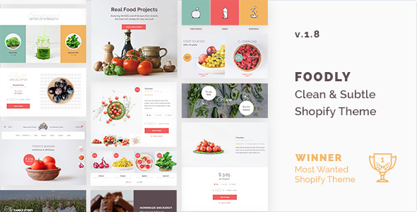 Foodly v1.8 – One-Stop Food Shopify Theme