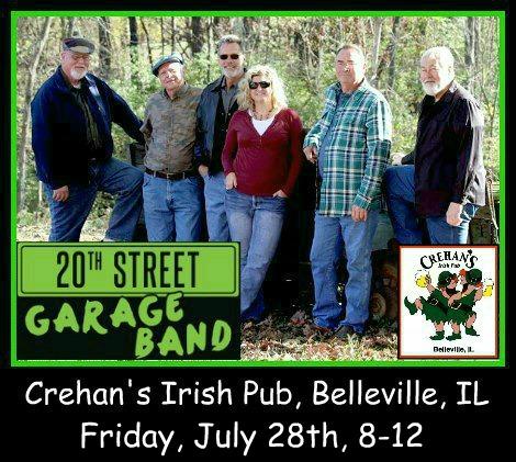 20th Street Garage Band 7-28-17