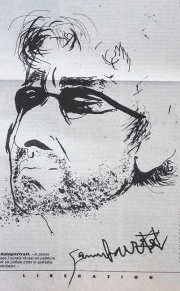Autoportrait Serge Gainsbourg