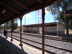 Ferrocarril Mexicano -  Former Teotihuacan Passenger Station - Platforms
