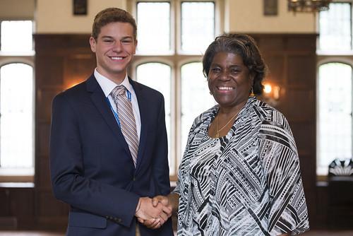INTL students meet Ambassador Linda Thomas-Greenfield