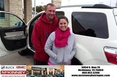#HappyBirthday to Brandy from Eric Dotson at McKinney Buick GMC!