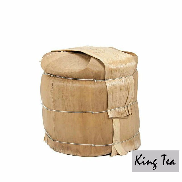 Free Shipping 2014 XiaGuan ChunQiuDaYe Cake 357g China YunNan KunMing Chinese Puer Puerh Raw Tea Sheng Cha Weight Loss Slim Beauty