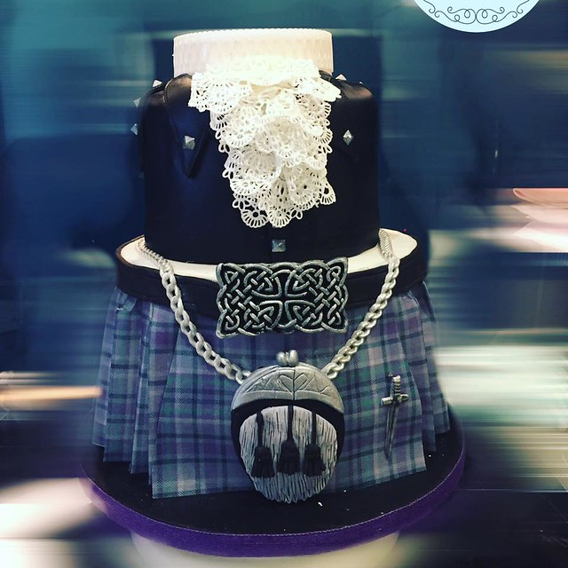 Outlander Cake from Claire Maynard of Cakes by Claire
