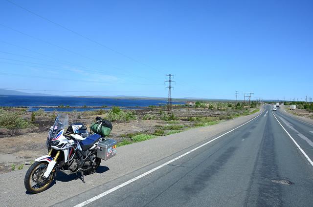Russia, riding south to Kandalaksha