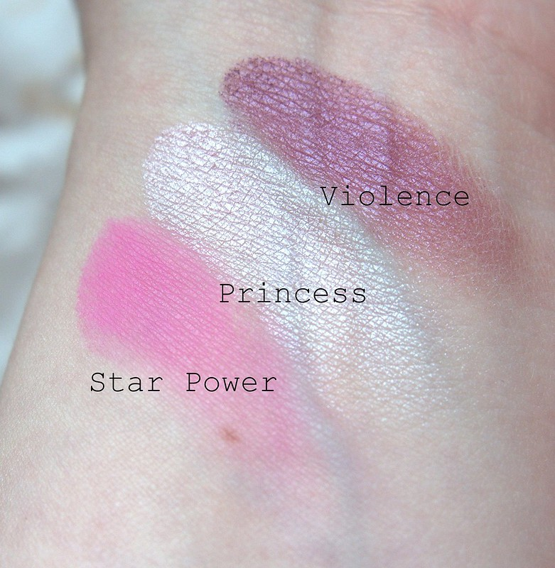 Jeffree Star Beauty Killer swatches
